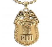 Personalized New Jersey Sergeant Badge with Your Number   Department