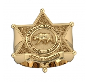 Personalized Los Angeles Sheriff Badge Ring