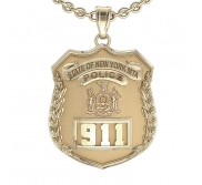Personalized Transit Police Badge w  Your Number   Department