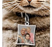 Pet s Curve Rectangle Picture Pendant
