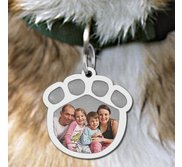 Paw Print Picture Pendant