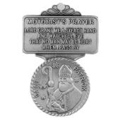 Saint Patrick Religious Metal Visor Clip