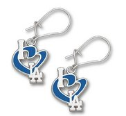 Los Angeles Dodgers 1 2 Inch Earrings