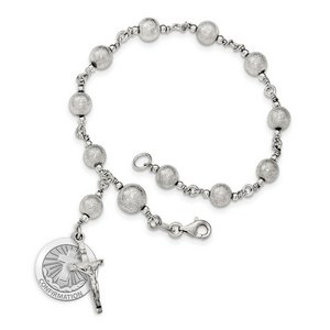 Confirmation Cross Rosary Bracelet  EXCLUSIVE