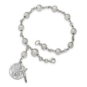 Saint Brigid of Ireland Rosary Bracelet  EXCLUSIVE