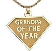Grandpa of the Year Charm