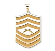 US Marine Corps Master Sergeant Pendant