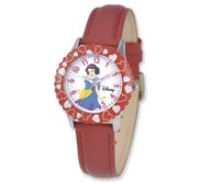 Snow White 8 4  Leather Band with Buckle Closure