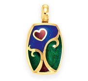 Victor Mayer 18K Yellow Gold Locket