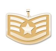 Unites States Air Force Staff Sergeant Pendant