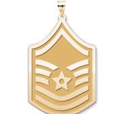 Unites States Air Force Master Sergeant Pendant