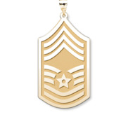 Unites States Air Force Chief Master Sergeant Pendant