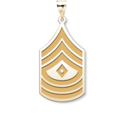 US Army National Guard First Sergeant Pendant