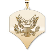 US Army National Guard Specialist Pendant