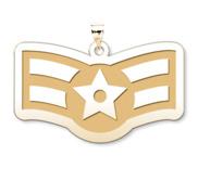 U S Air Force National Guard Airman First Class Pendant