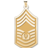 U S AirForce National Guard Chief Master Sergeant of the Air Force Pendant