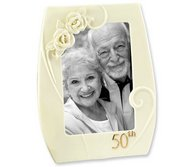 Pearl Rose 50th anniversary Frame