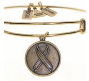 Wind   Fire  Awareness  Expandable Bracelet