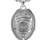 Personalized New Jersey Lieutenant Badge with Your Department