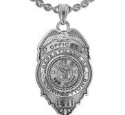 Personalized New Jersey  Correction s Officer Badge with Your Number