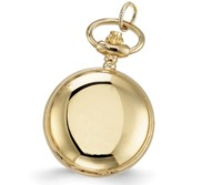 Charles Hubert Women s Gold Tone Polished Necklace Watch