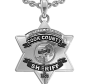 Personalized Cook County Sheriff Badge