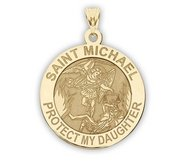 Saint Michael   Protect My Daughter   Religious Medal   EXCLUSIVE