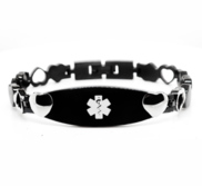 Stainless Steel Women s Medical ID Bracelet