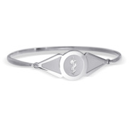 Sterling Silver Women s Medical Bangle Bracelet