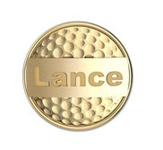 Personalized Golf Ball Marker with Name