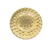 Personalized Logo Golf Ball Marker