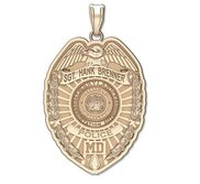 Personalized Maryland Transportation Authority Badge with Your Name and Badge Number
