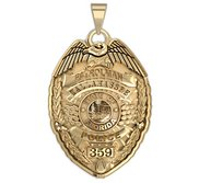 Personalized Florida Police Badge with Your Name  Rank  Number   Department