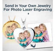 Send in your own Jewelry for Photo Lasering