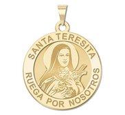 Santa Teresita Religious Medal  EXCLUSIVE