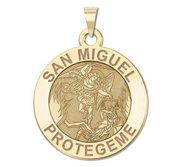 San Miguel Religious Medal   EXCLUSIVE