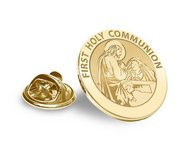 First Holy Communion Religious Brooch  Lapel Pin   EXCLUSIVE