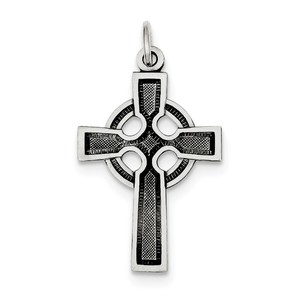 Sterling Silver Celtic Cross Charm