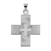 Sterling Silver Greek Cross