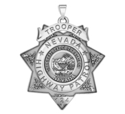 Personalized Nevada Highway Patrol State Trooper Badge with your Number