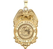 Personalized Patrolman Montana Police Badge with Your Rank  Number   Department