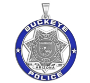 Personalized Buckeye Arizona Police with Your Number