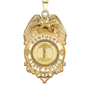 Personalized Kentucky Sergeant Police Badge with Your Rank  Number   Department