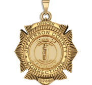Personalized Kentucky Corrections Badge with Your Number