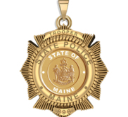Personalized Maine Trooper Badge with Your Number