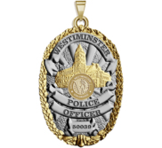 Personalized Colorado Westminster Police Badge with Your Rank and Number