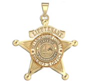 Personalized New Hampshire Sheriff Badge with Number   Department