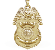 Personalized South Dakota Mobridge Police Badge with Your Rank  Number   Department