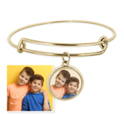 Expandable   Photo Charm Expandable Bracelet