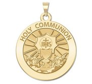 Holy Communion Religious Medal  EXCLUSIVE